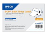 Epson - Biaxially-oriented polypropylene (PP) - glossy satin - permanent acry...