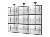 NewStar NeoMounts PRO NMPRO-C33 - Ceiling mount for 3x3 video wall (fixed) - ...