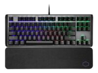 Cooler Master CK530 V2 - Keyboard - backlit - USB - US - key switch: blue - g...